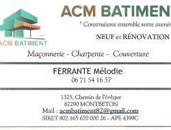 ACM BATIMENT