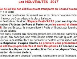 Les nouveautés 400 Coups 2017