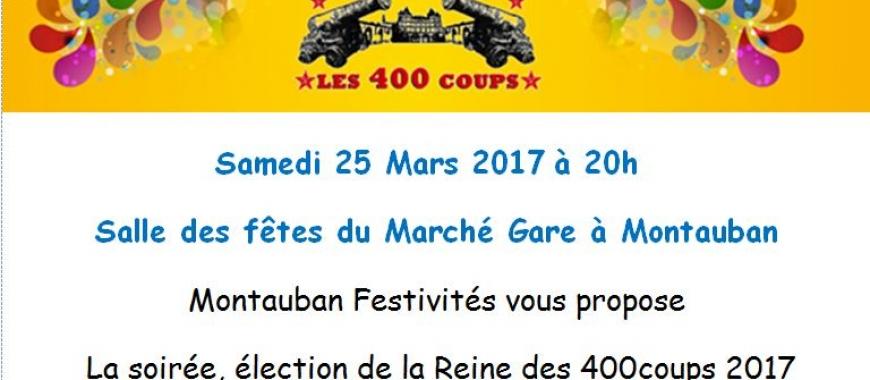 Election de la Reine des 400 Coups 2017