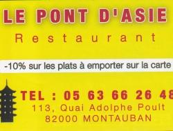 Restaurant Le Pont D'Asie
