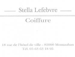 Stella Lefevre  Coiffure