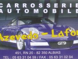 Carrosserie Automobile Azevedo- Lafon