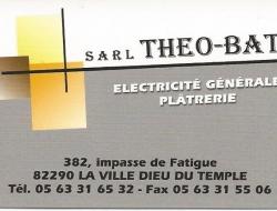 S.A.R.L  Théo-Bat