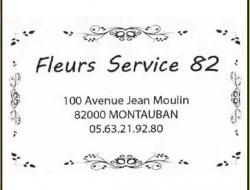 Fleurs Service 82
